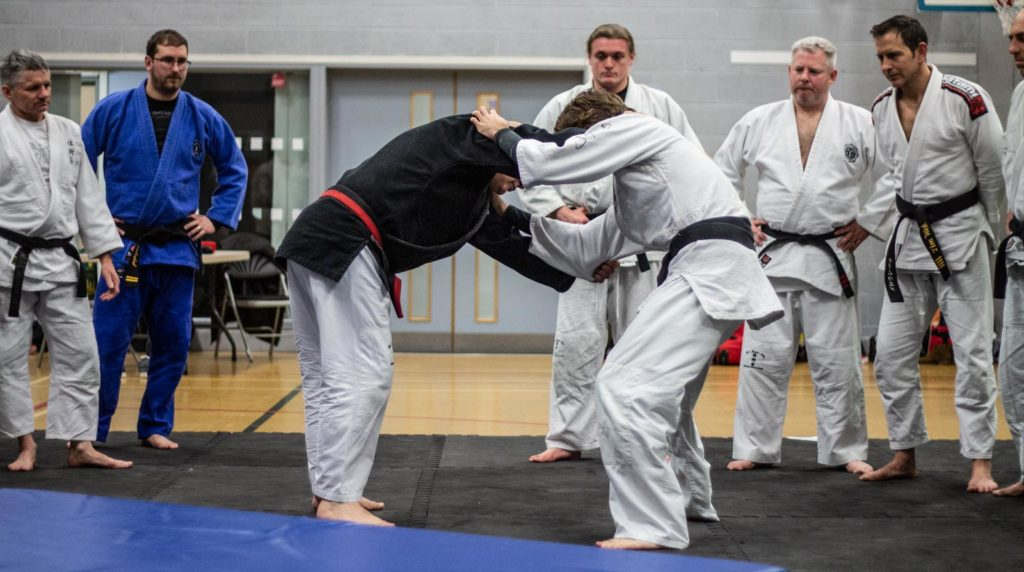 Sensei Ross Iannoccaro teaching Taijutsu Kai instructors master class